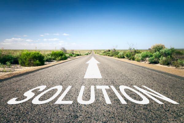 Chemin vers la solution