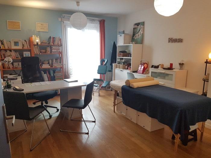 Cabinet de naturopathie réflexologie et massage bien-être de Sceaux