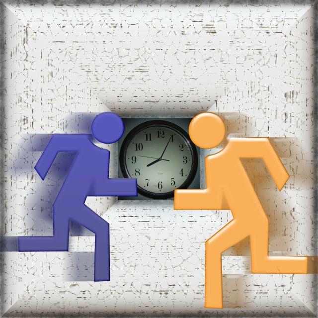 Course contre la montre